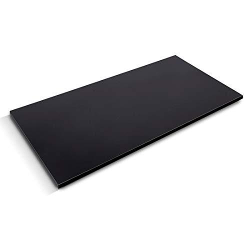 Flexispot stabile Tischplatte 2,5 cm stark - DIY Schreibtischplatte Bürotischplatte Spanholzplatte 120 * 60cm