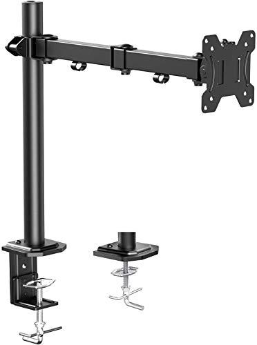 HUANUO 13-32 Zoll Monitor Halterung Höhenverstellbar für LCD LED Bildschirme, 2 Montageoptionen, VESA 75/100