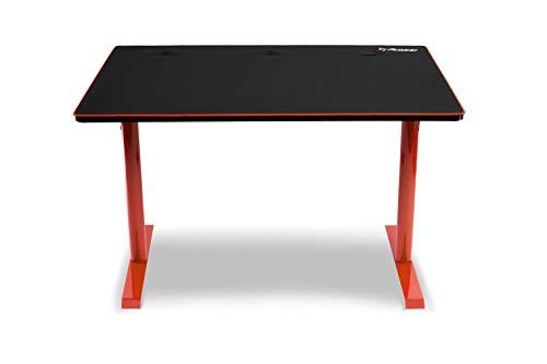 Arozzi Leggero Gamingtisch, Rot, 114x72x72.5 cm