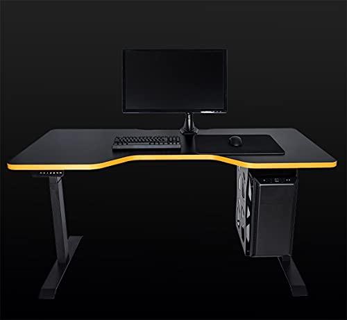 LeetDesk Gaming Tisch - Elektrisch Höhenverstellbarer Schreibtisch...