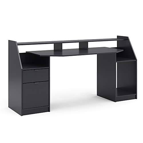 Vicco Computertisch Joel Groß PC-Tisch Gamingtisch Schreibtisch...