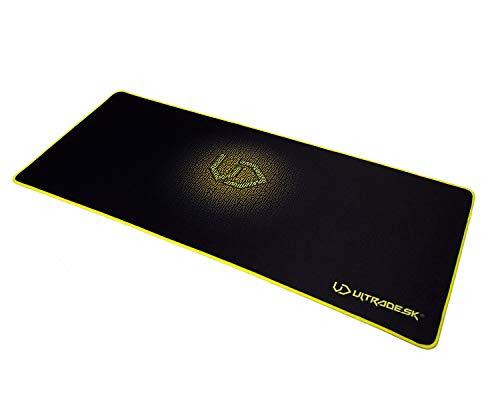 Ultradesk XL Pad Gelb - Pad für Maus und Tastatur, großes Mauspad