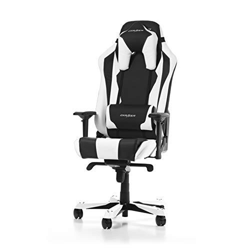 DXRacer Sentinel Series S28-NW Gaming Stuhl aus Kunstleder, Schwarz-Weiß