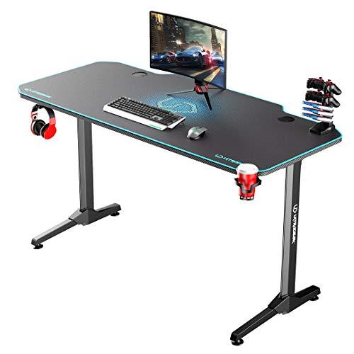 Ultradesk Frag Blau - Computertisch, Schreibtisch, Gaming Tisch mit...