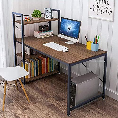 Dripex Holz Schreibtisch Computertisch 120x60x120cm PC-Tisch...