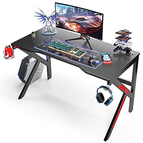 Gaming Tisch 120CM Computer Schreibtisch, Gaming Tische für Gaming...