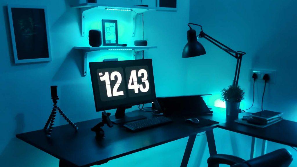 Beleuchtungsmöglichkeiten im Gaming-Zimmer
