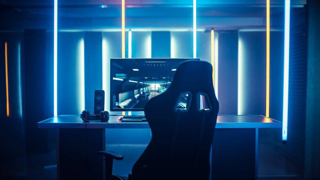 Gaming Tisch für das Gaming Zimmer
