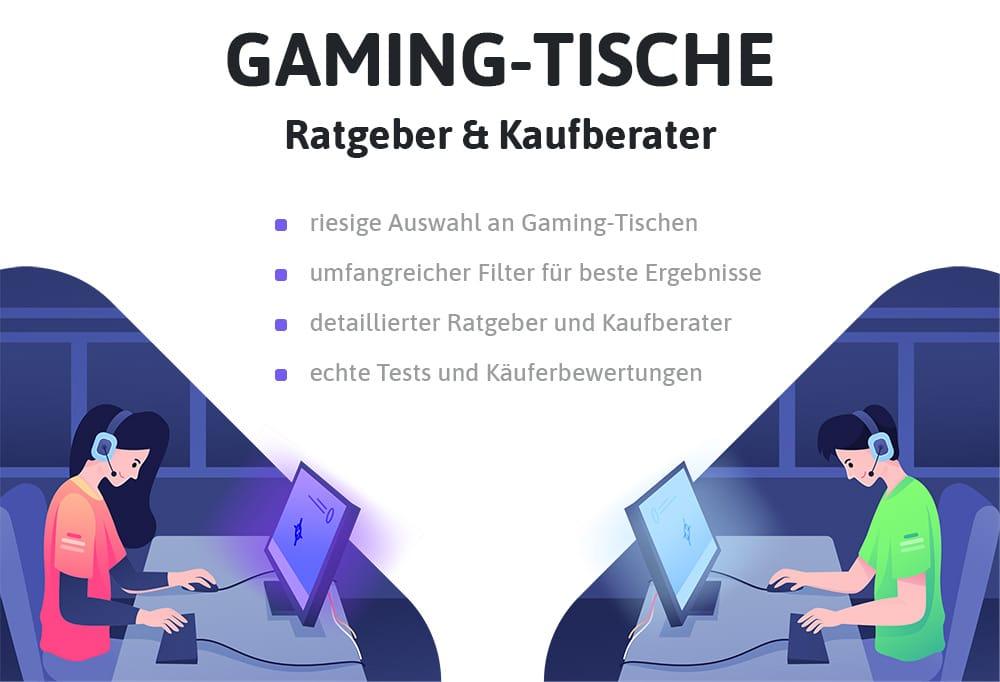 Gaming-Tisch kaufen und Ratgeber