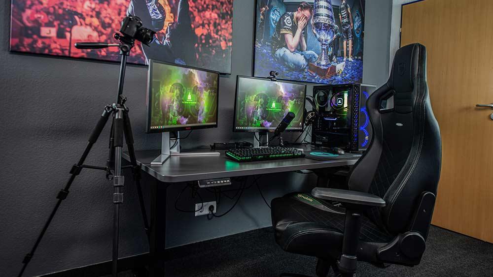 Streaming Tisch für Gamer